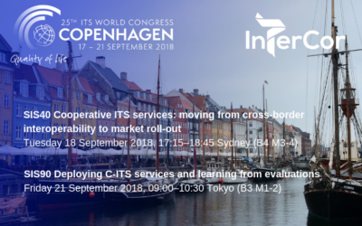 InterCor at the ITS World Congress 2018 in Copenhagen