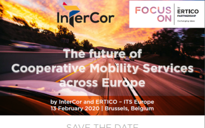 REGISTER NOW for InterCor Final Event: The future of Cooperative Mobility Services across Europe